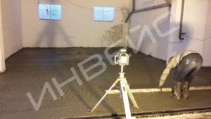 Промышленные бетонные полы с нанесением полимера - 007