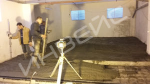 Промышленные бетонные полы с нанесением полимера - 009
