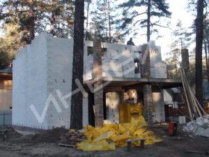 Строительство коттеджа из газобетона - 015