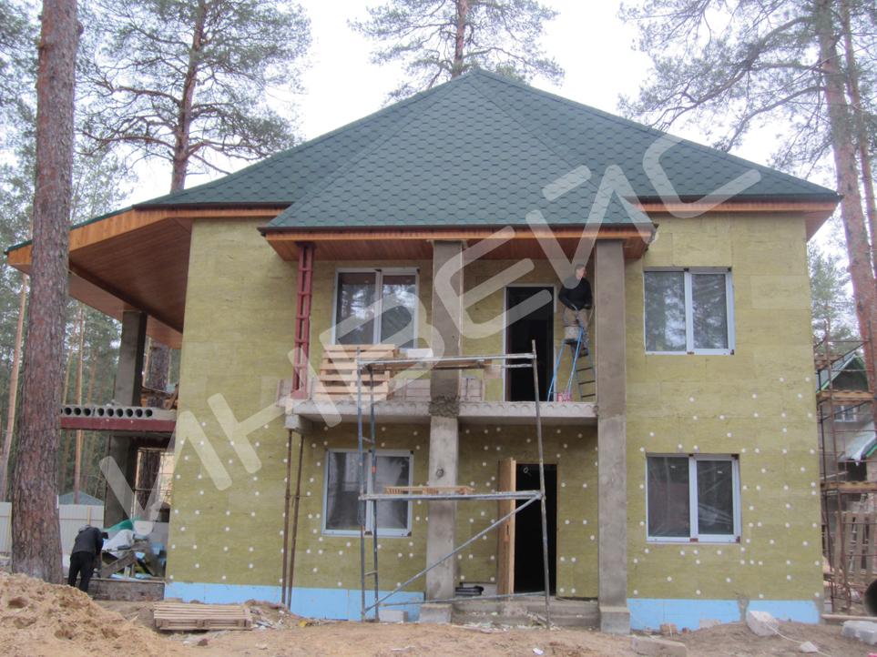 Строительство коттеджа из газобетона - 023