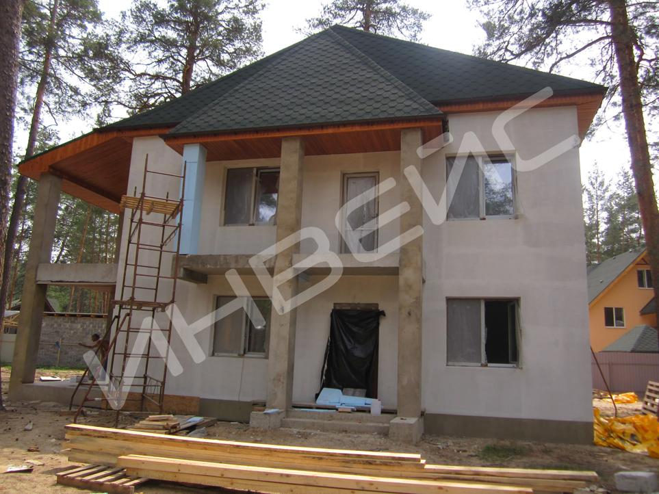 Строительство коттеджа из газобетона - 024