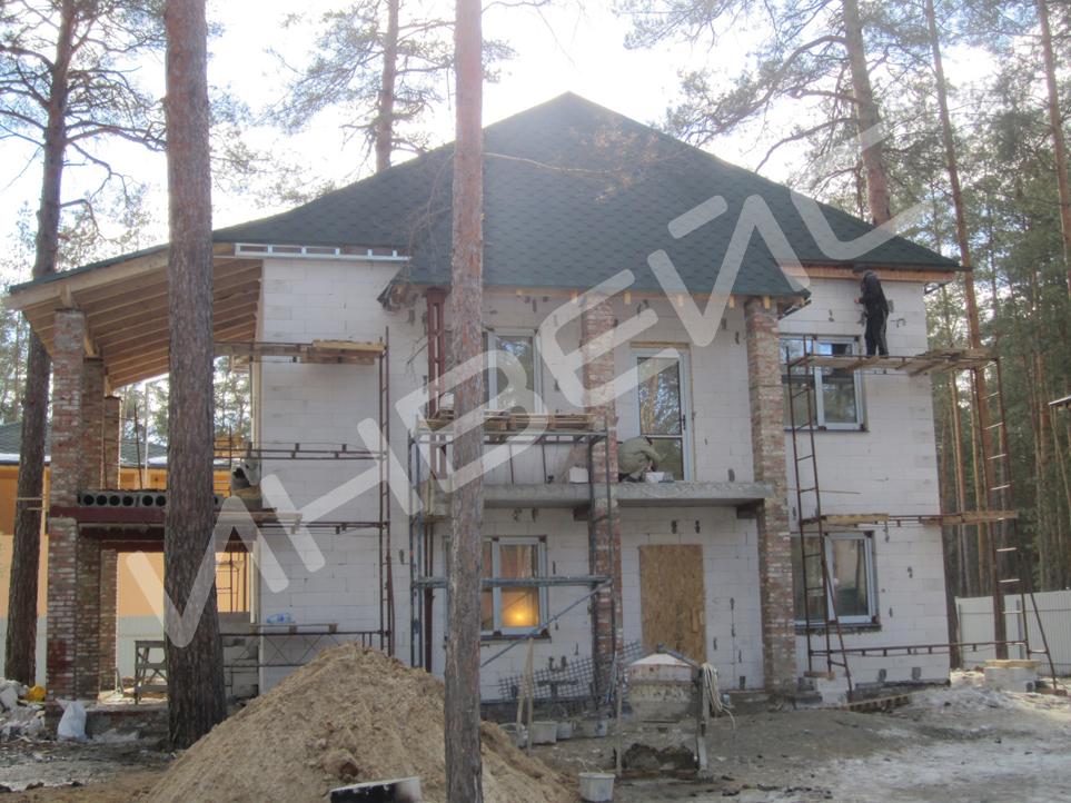 Строительство коттеджа из газобетона - 025