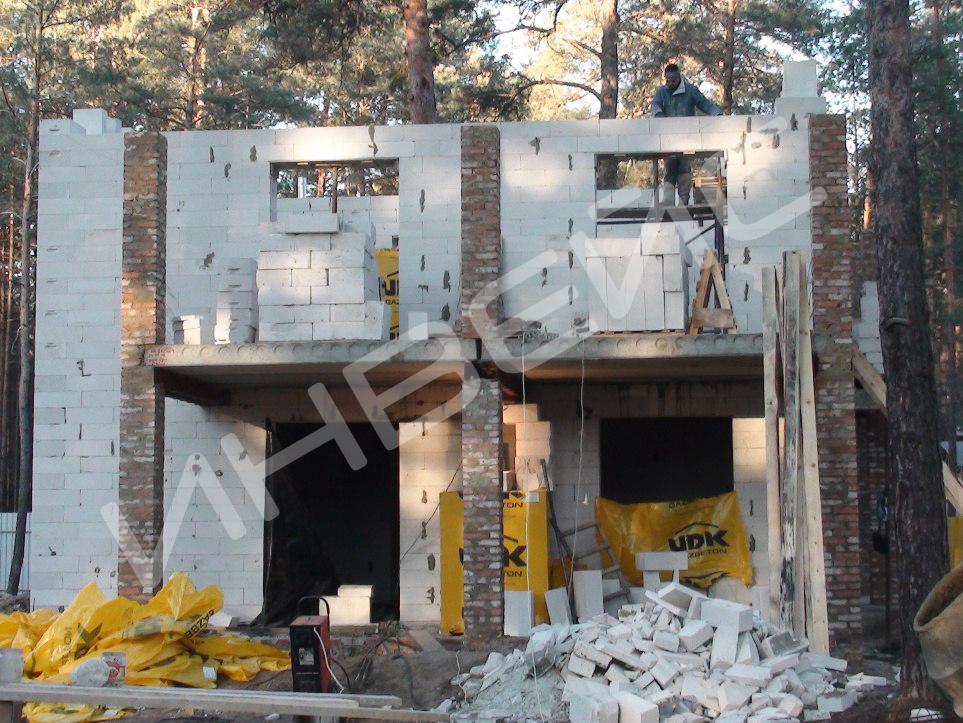 Строительство коттеджа из газобетона - 027