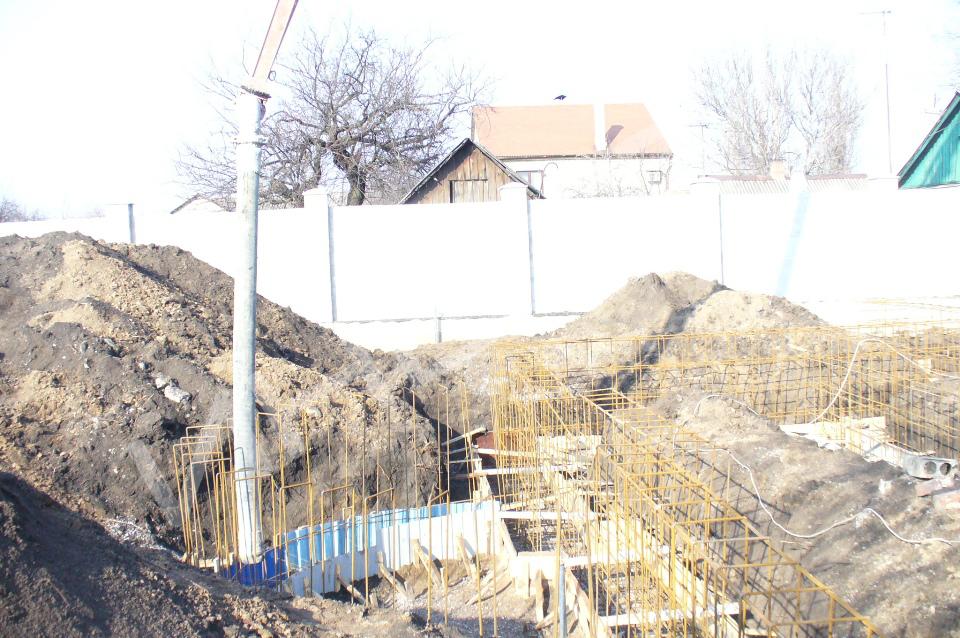 Строительство коттеджа - 001