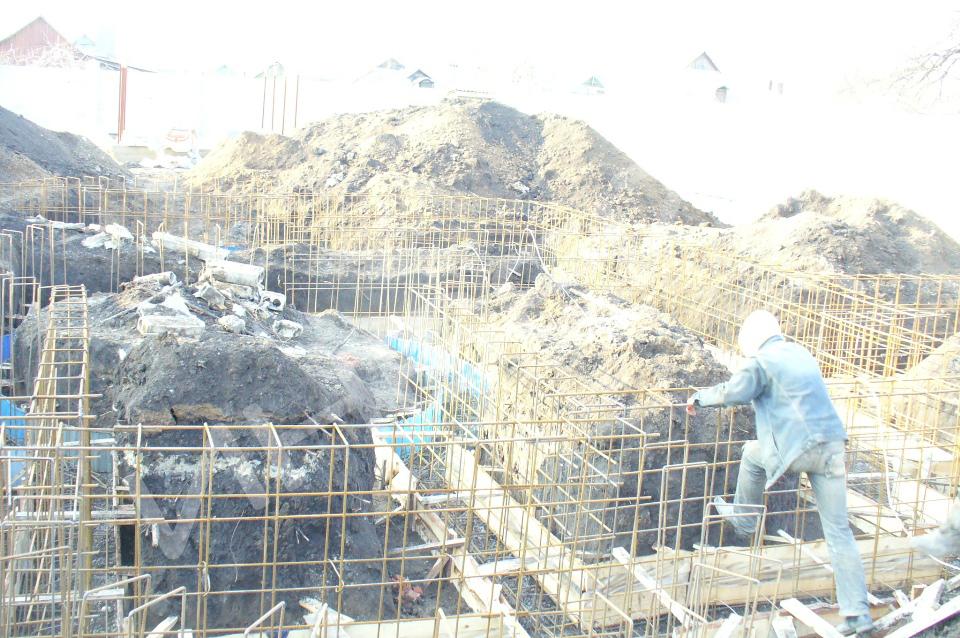 Строительство коттеджа - 002