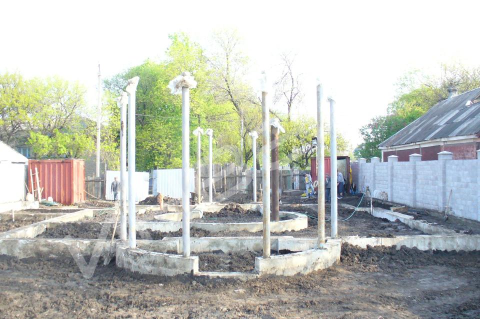 Строительство коттеджа - 019