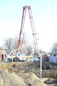 Строительство коттеджа - 027