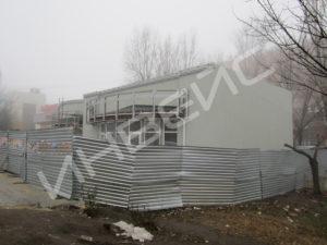 Строительство магазина - 007