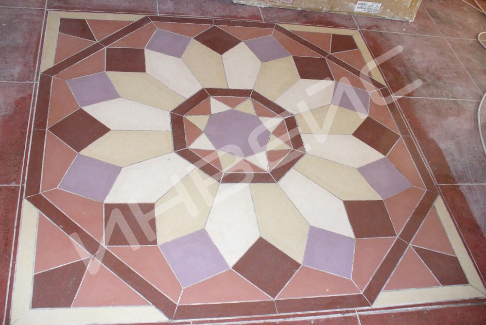 Декоративная укладка плитки - 1