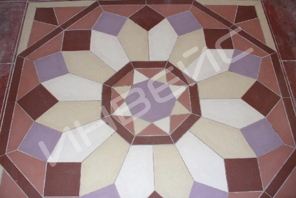 Декоративная укладка плитки - 3