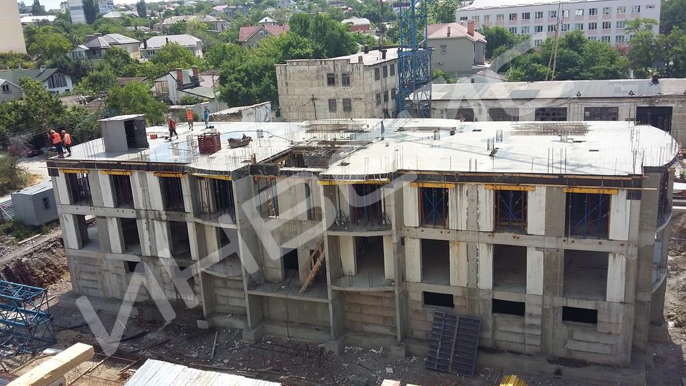 Строительство монолитного дома - 1